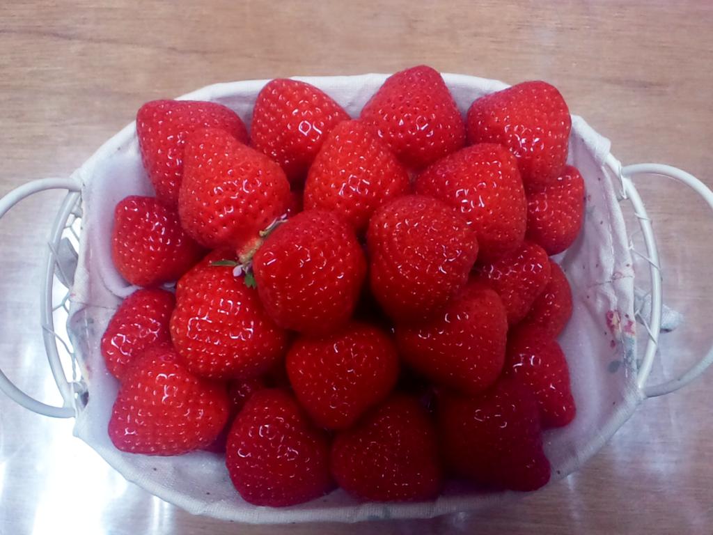 添田さんイチゴ盛り