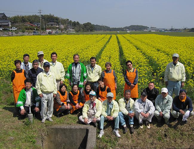 第12回【菜の花まつり】開催。下崎・長尾・鳥井原営農組合|福岡県行橋市