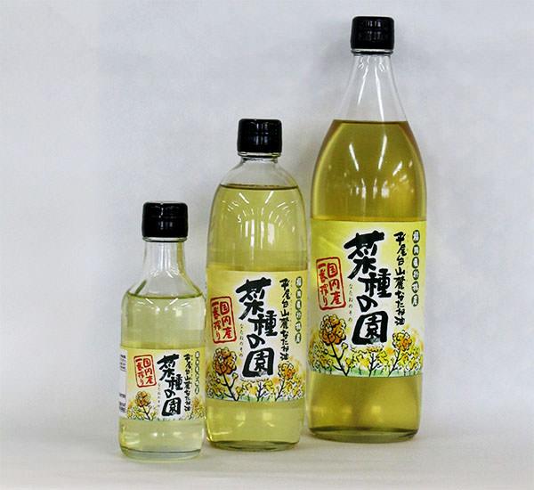 【なたね油】菜種の園・2015年度産瓶詰め完了です。|下崎・長尾・鳥居原営農組合(福岡県行橋市)